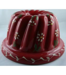 Kougelhopf individuel - Rouge fleur