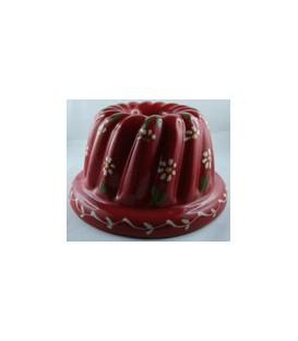 Kougelhopf pour 2 personnes - Rouge fleur