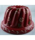Kougelhopf pour 4 à 6 personnes - Rouge fleur