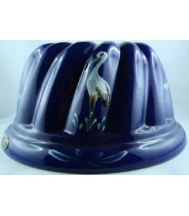 Kougelhopf pour 6 à 8 personnes - Bleu cigogne
